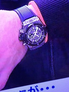高橋由伸 腕時計